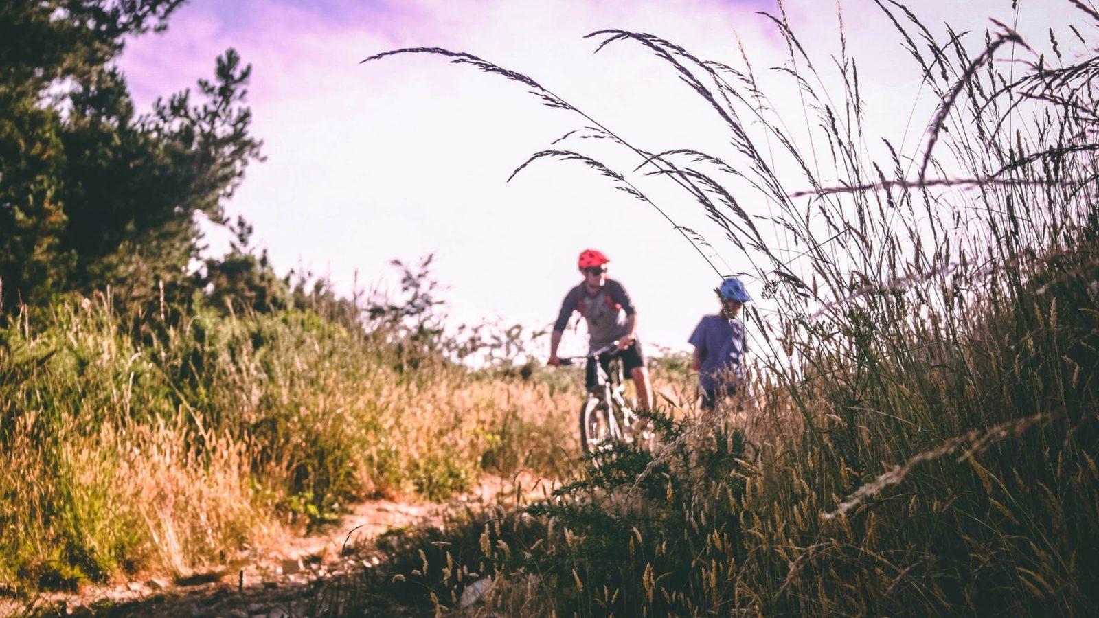 LIZARD SKINS NORTHSHORE LOCK-ON ELECTRIC BLUE BICYCLE GRIPS