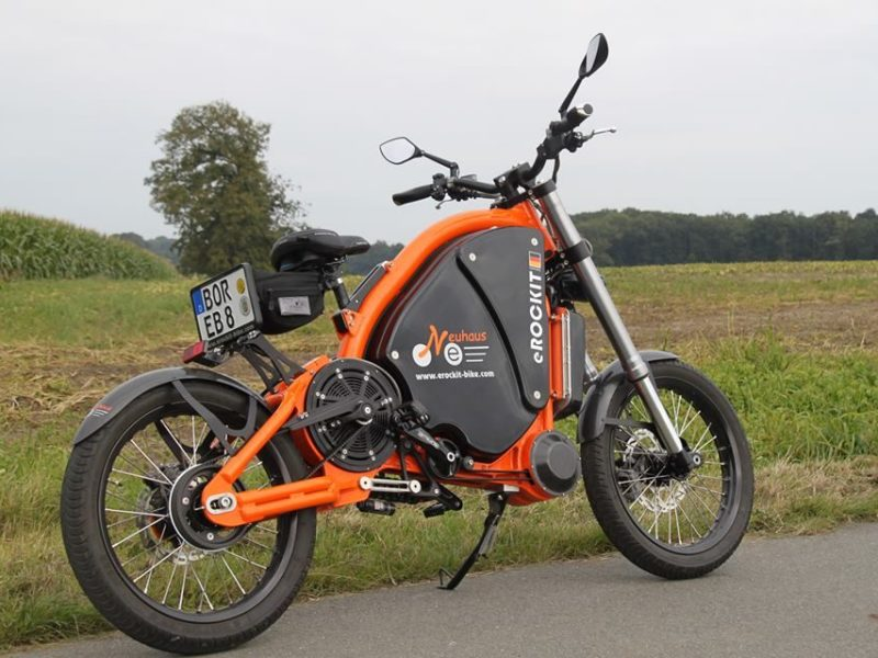 erockit electric assist bike